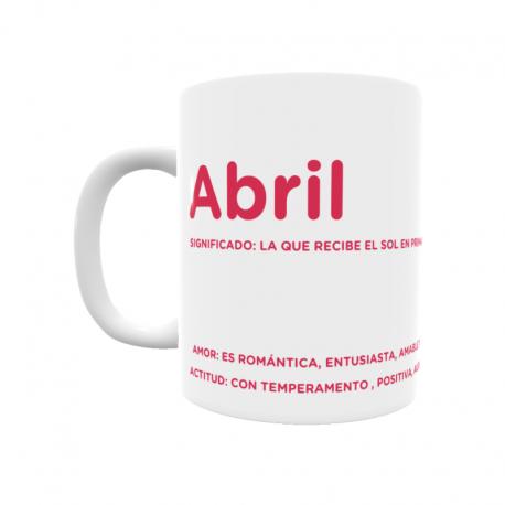 Taza - Abril
