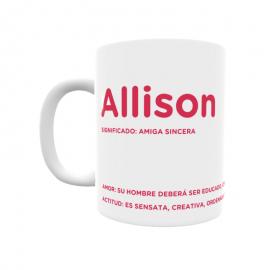 Taza - Allison