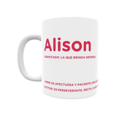 Taza - Alison