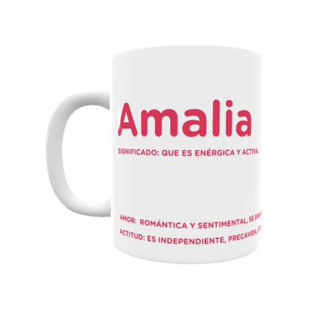 Taza - Amalia