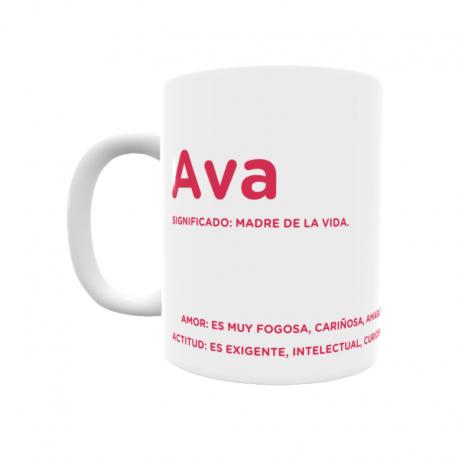 Taza - Ava