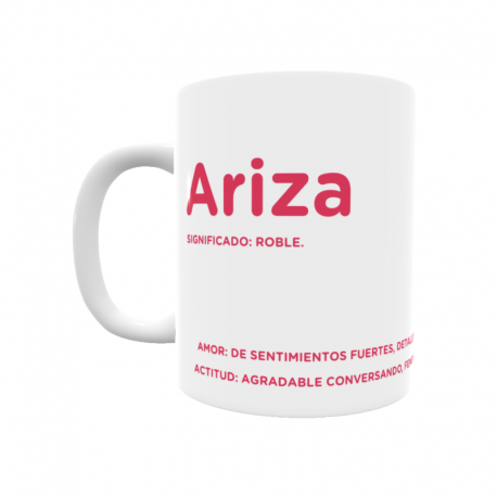 Taza - Ariza