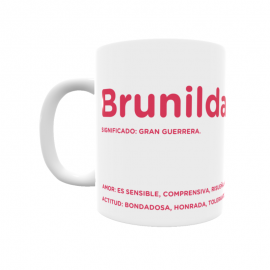 Taza - Brunilda