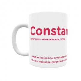 Taza - Constancia