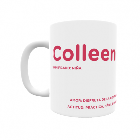 Taza - Colleen