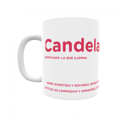 Taza - Candelaria