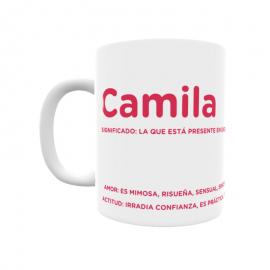 Taza - Camila