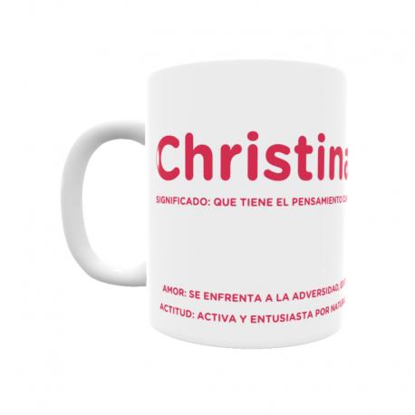 Taza - Christina