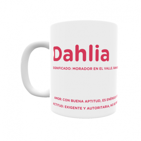 Taza - Dahlia