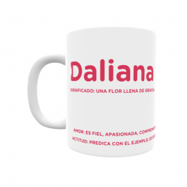 Taza - Daliana