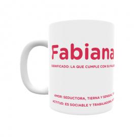 Taza - Fabiana