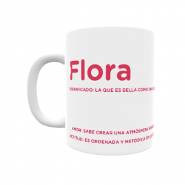 Taza - Flora