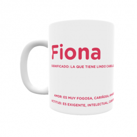 Taza - Fiona