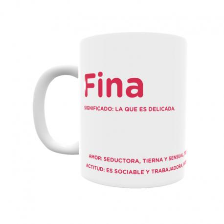 Taza - Fina