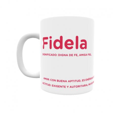 Taza - Fidela