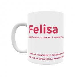 Taza - Felisa