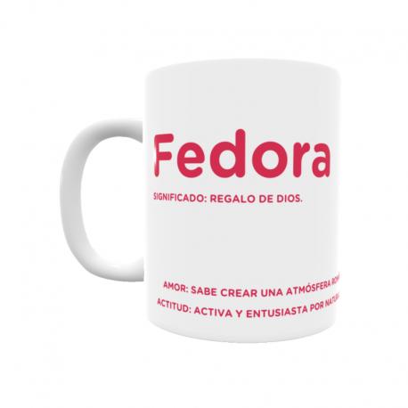 Taza - Fedora