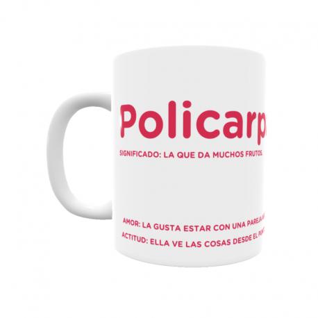 Taza - Policarpa
