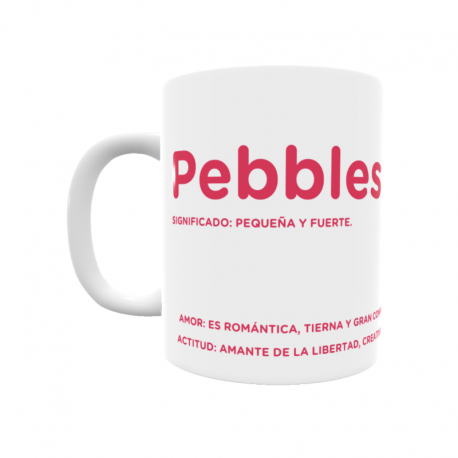 Taza - Pebbles