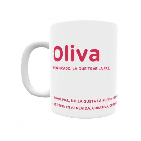 Taza - Oliva