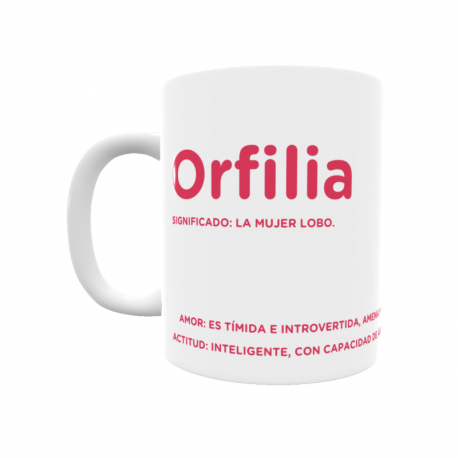 Taza - Orfilia