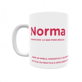 Taza - Norma