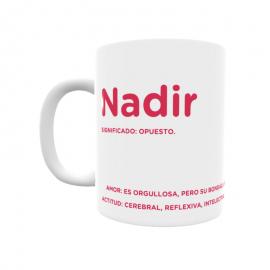 Taza - Nadir