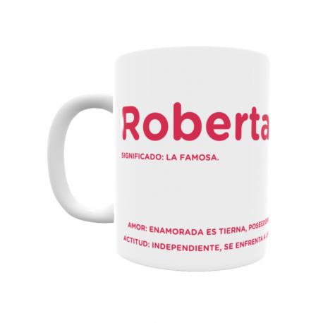 Taza - Roberta