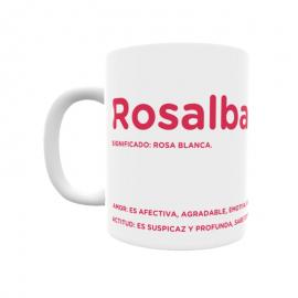 Taza - Rosalba