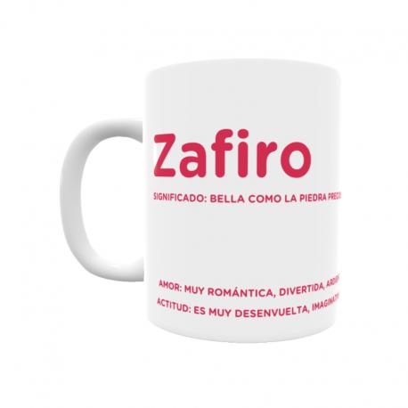 Taza - Zafiro