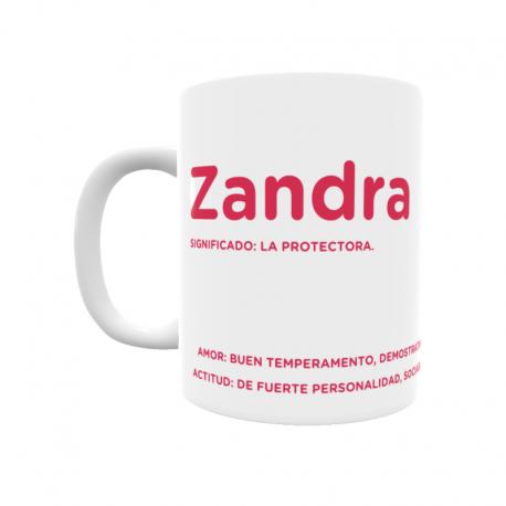 Taza - Zandra