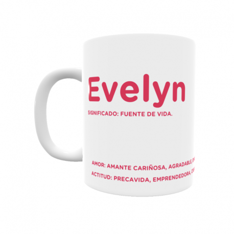 Taza - Evelyn