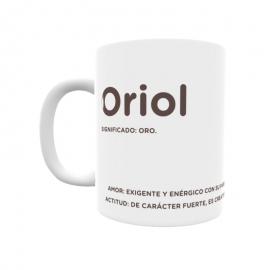 Taza - Oriol
