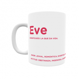 Taza - Eve