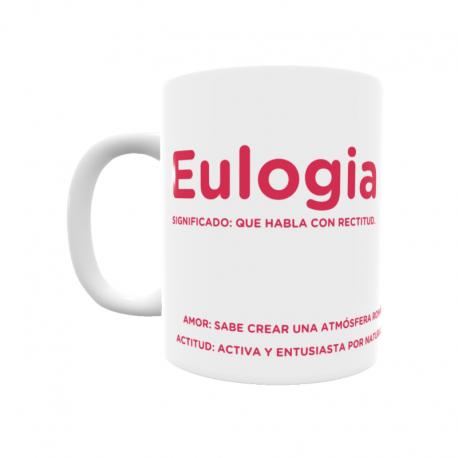 Taza - Eulogia