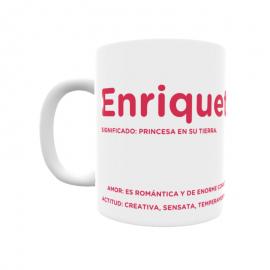 Taza - Enriqueta