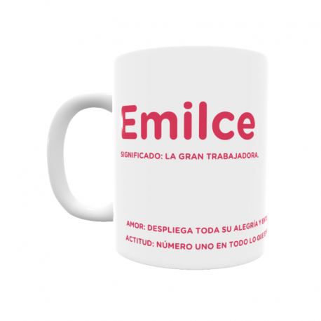 Taza - Emilce