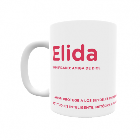 Taza - Elida