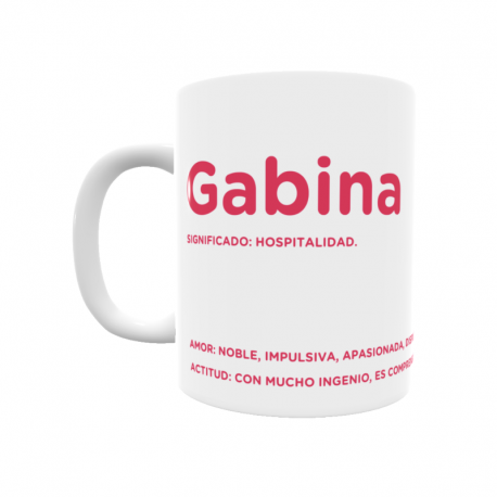 Taza - Gabina