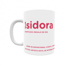 Taza - Isidora