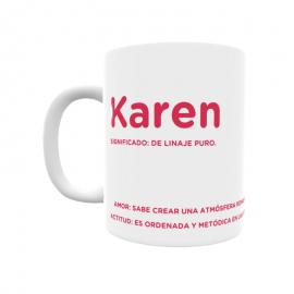 Taza - Karen