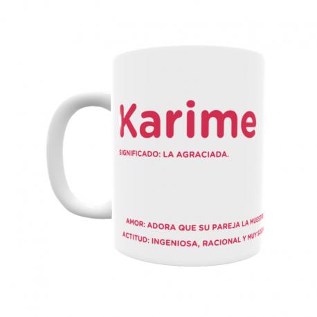 Taza - Karime