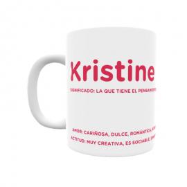 Taza - Kristine