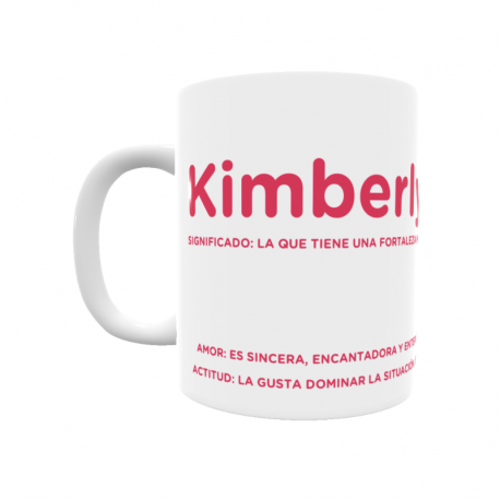 Taza - Kimberly