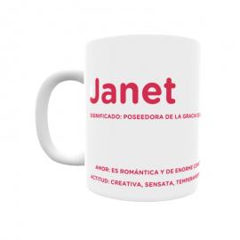Taza - Janet