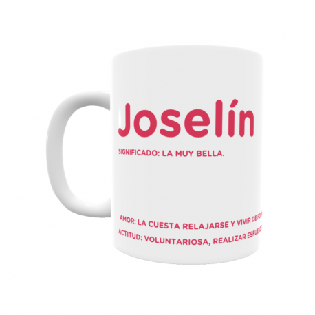 Taza - Joselín