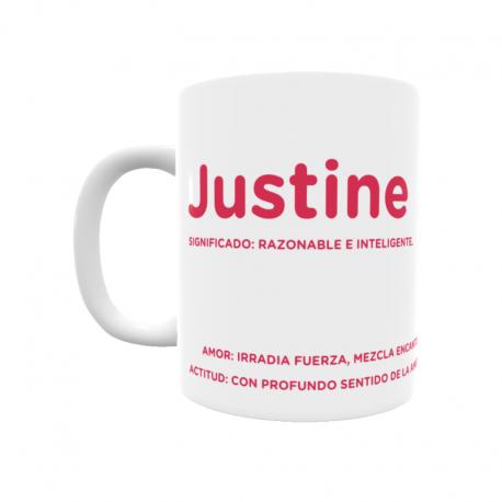 Taza - Justine