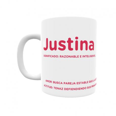 Taza - Justina