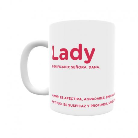Taza - Lady