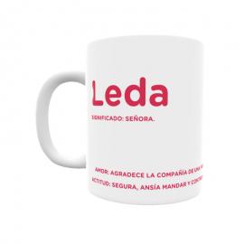 Taza - Leda